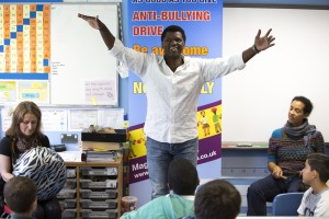Anti-bullyingworkshop At A School