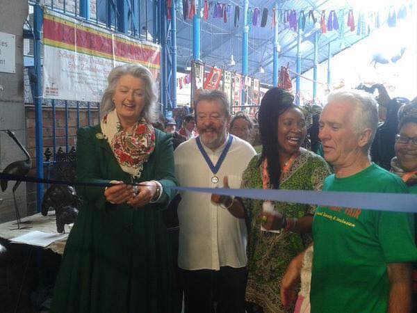 Official opening Wales Fair Trade fair